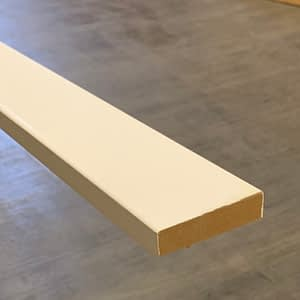 Primed MDF Baseboard 1 by 3-Taiga