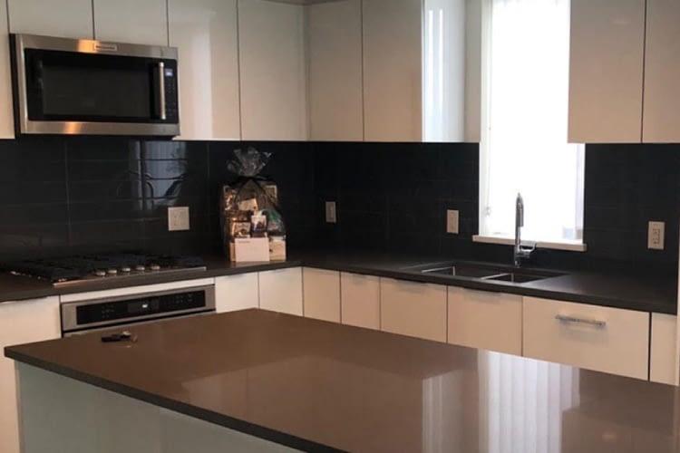 A newly renovated kitchen