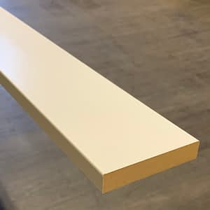 Primed MDF Baseboard 1 by 4-Taiga